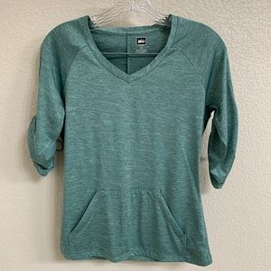 REI Athletic Shirt XS Green